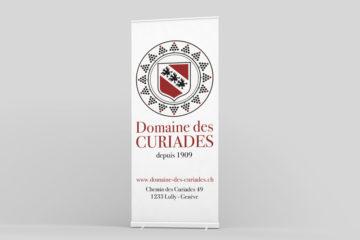 Roll-up Domaine des Curiades