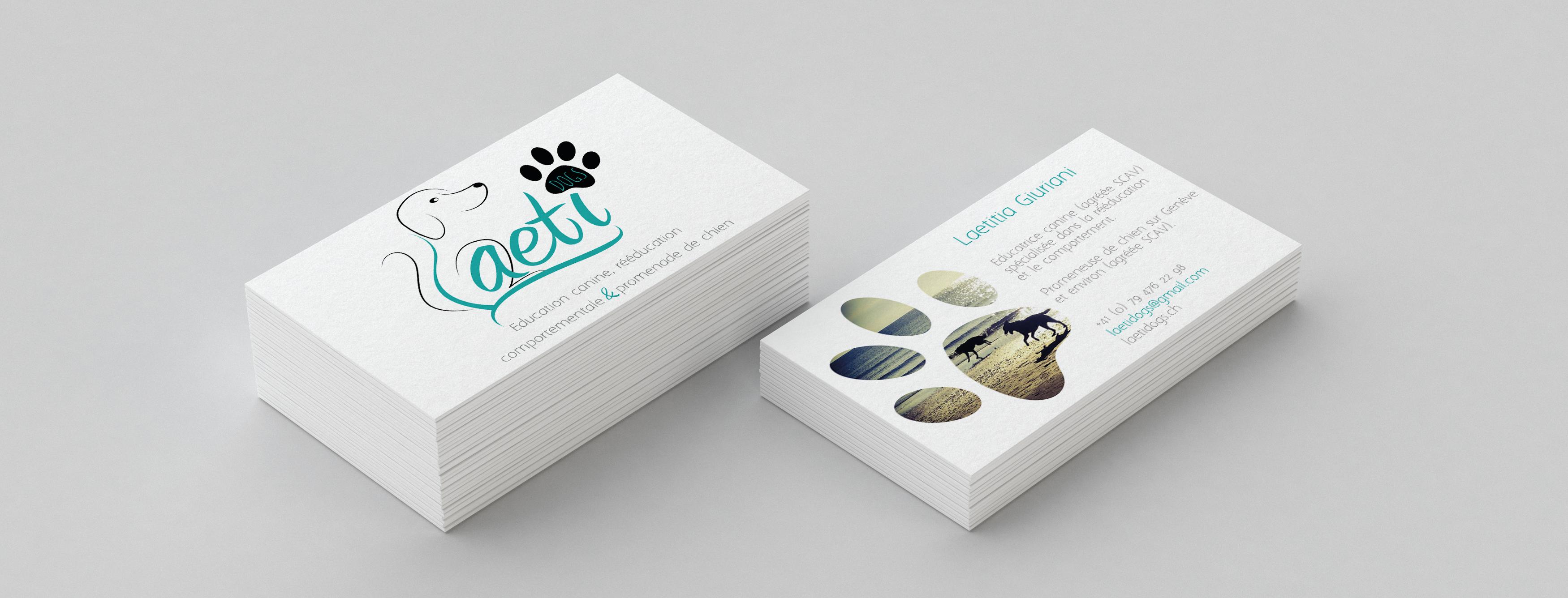 Carte de visite Laeti dogs